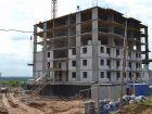 Ход строительства дома № 15 в ЖК Академический - фото 42, Июль 2019