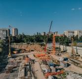 Ход строительства дома Поз. 2-40 в ЖК GreenSide (ГринСайд) -