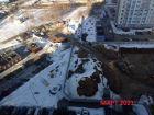 Ход строительства дома № 1 в ЖК Огни Автозавода - фото 32, Март 2021