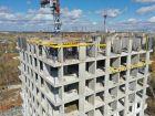 Ход строительства дома № 1 второй пусковой комплекс в ЖК Маяковский Парк - фото 31, Май 2021