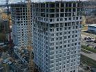 Ход строительства дома № 1 второй пусковой комплекс в ЖК Маяковский Парк - фото 33, Май 2021