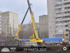ЖК Кристалл 2 - ход строительства, фото 6, Апрель 2021