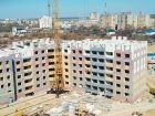 Ход строительства дома на участке № 214 в ЖК Солнечный город - фото 54, Апрель 2018