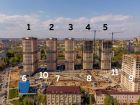 Ход строительства дома Литер 9 в ЖК Звезда Столицы - фото 32, Май 2020