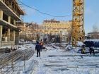 Ход строительства дома № 1 в ЖК Покровский - фото 49, Январь 2021