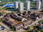Ход строительства дома 6 типа в КП Аладдин - фото 6, Август 2016