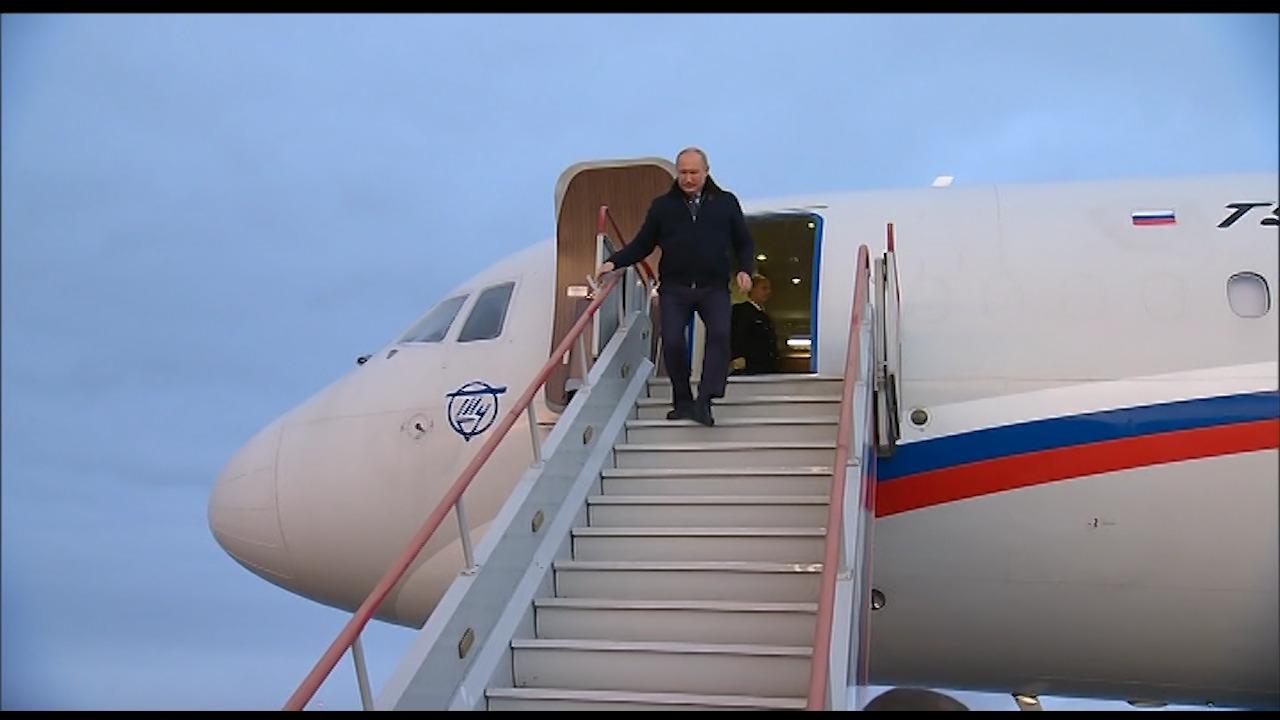 Путин прибыл в Нижегородский регион - фото 2