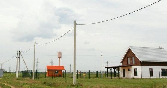 Дом Участок № 3, 1000 м² в КП Ласточки - фото 1