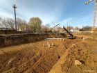 Ход строительства дома № 1 в ЖК Книги - фото 60, Октябрь 2020