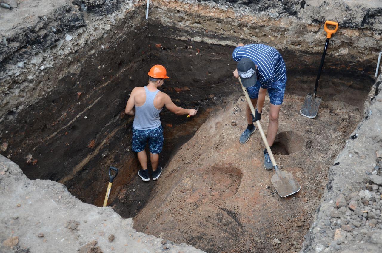Остатки древней крепости обнаружили в Арзамасе - фото 1