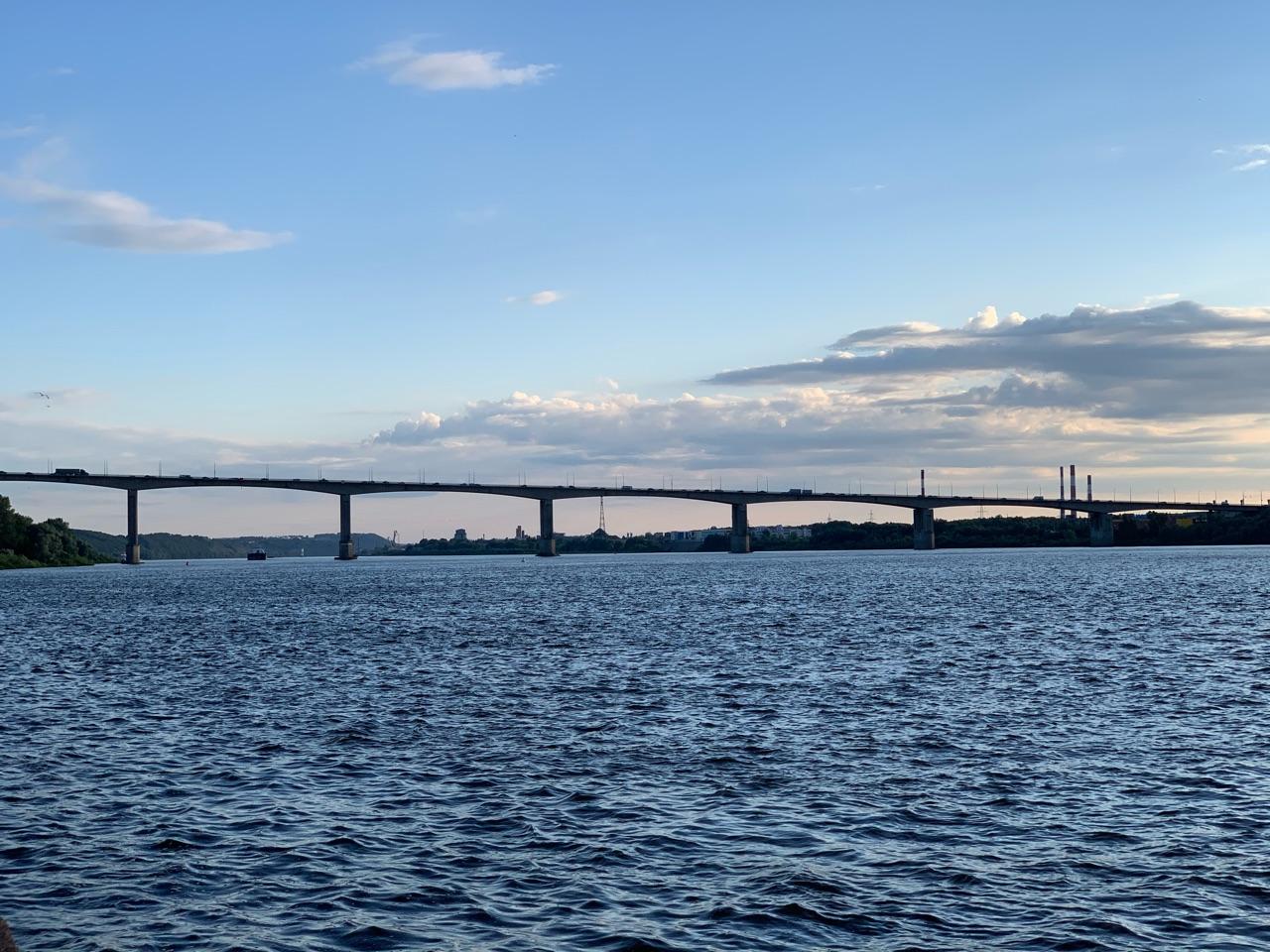 Уровень воды в Волге у Нижнего Новгорода превысил неблагоприятную отметку на 3 см - фото 1