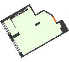 1 комнатная квартира 41,2 м² в ЖК АТЛАНТ СИТИ, дом №1 - планировка