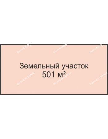 Студия 501 м² в КП Любовь, дом Участок № 1, 501 м²