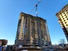 Ход строительства дома Литер 1 в ЖК Династия - фото 19, Февраль 2020