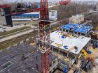 Ход строительства дома № 1 первый пусковой комплекс в ЖК Маяковский Парк - фото 71, Ноябрь 2020