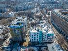 Ход строительства дома №1 в ЖК Премиум - фото 56, Апрель 2018