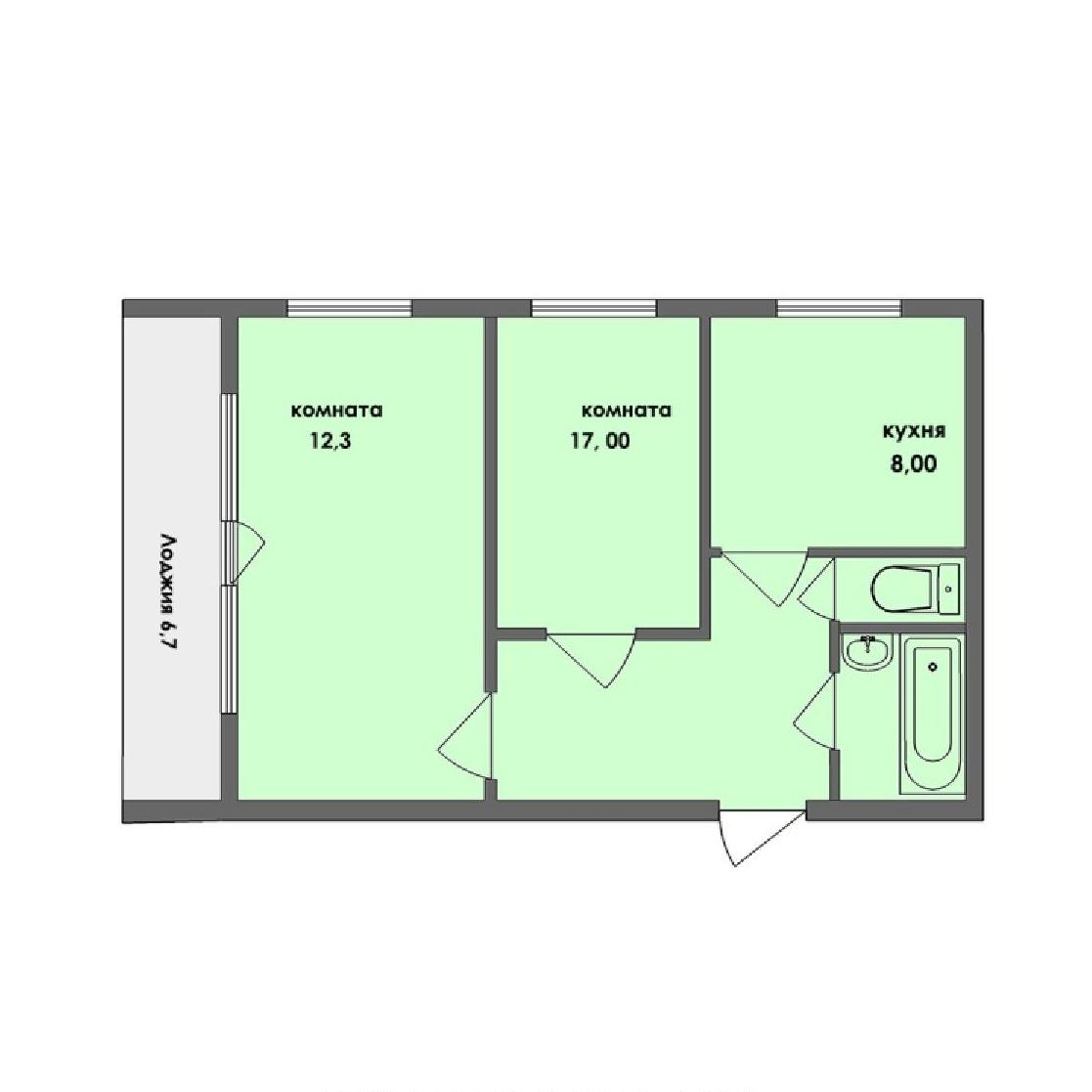 Топ-10 неудачных планировок квартир в новостройках - фото 7