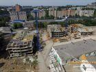 Ход строительства дома Литер 1 в ЖК Звезда Столицы - фото 116, Июль 2018