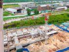 Ход строительства дома № 1 корпус 2 в ЖК Жюль Верн - фото 59, Май 2017