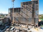 Ход строительства дома № 1 в ЖК Встреча - фото 32, Октябрь 2019